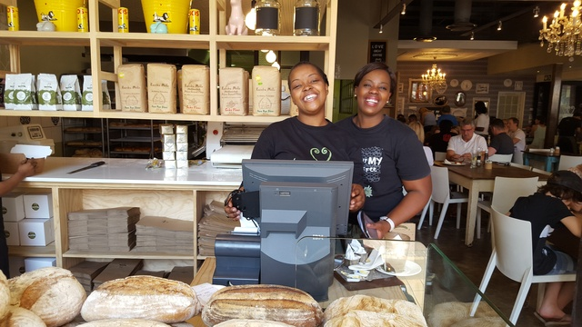Lovely friendly staff at Vovo Telo