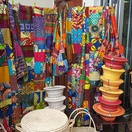 Some of the colourful wears on offer at Art Africa